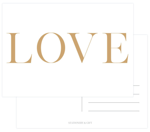 Stationery & Gift - LOVE