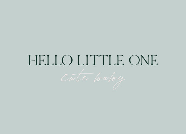 Stationery & Gift - Hello little one